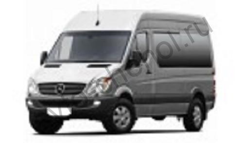 Авточехлы Mercedes Sprinter7 места 2005+