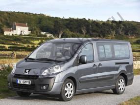 Авточехлы Peugeot Expert II 2007+