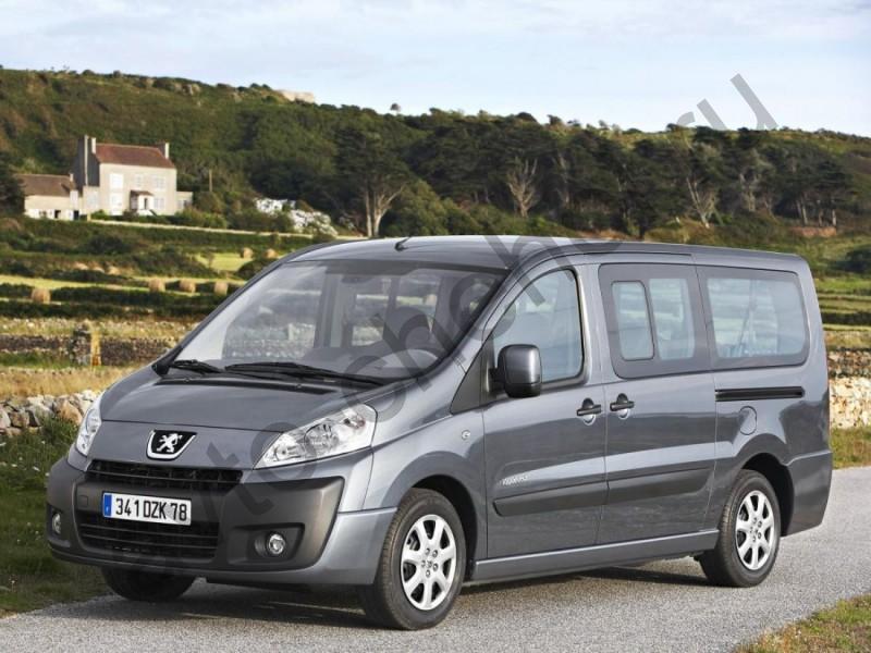 Коврики Peugeot Expert II 2007+