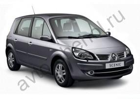 Авточехлы Renault Scenic II 2003-2009