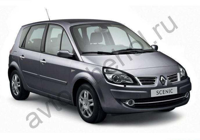 Коврики Renault Scenic II 2003-2009