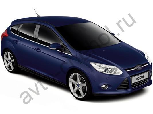 Коврики Ford Focus 3 Trend Sport, Titanium (2011+)