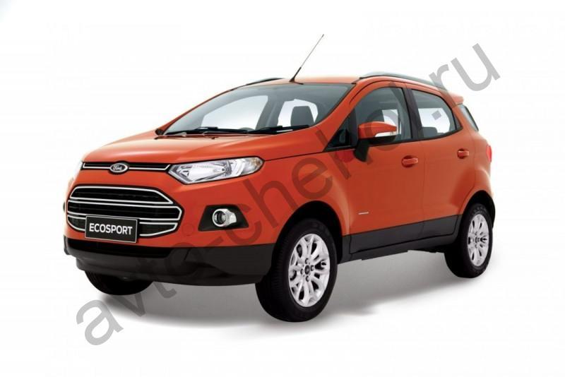 Авточехлы Ford EcoSport (2014-2017)