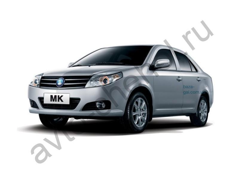 Авточехлы Geely МК седан (2006-2015)