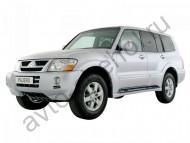 Коврики Mitsubishi Pajero 3 1999-2006