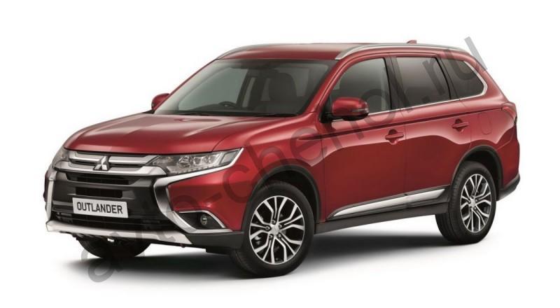 Авточехлы Mitsubishi Outlander III рестайлинг 3 (2018-2021)
