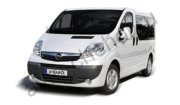 Авточехлы Opel Vivaro 8 мест (2001-2014)