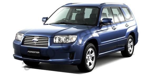 Коврики Subaru Forester II 2002-2008