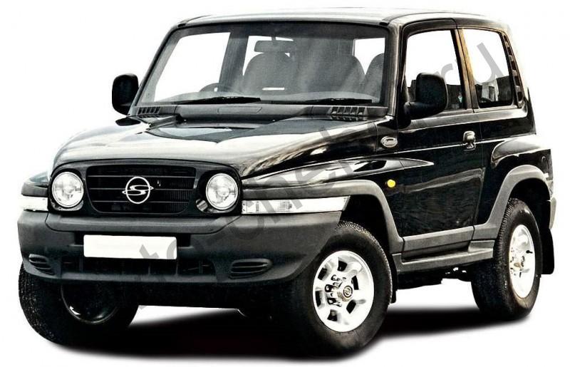 Авточехлы Ssangyong Korando (1996-2006)