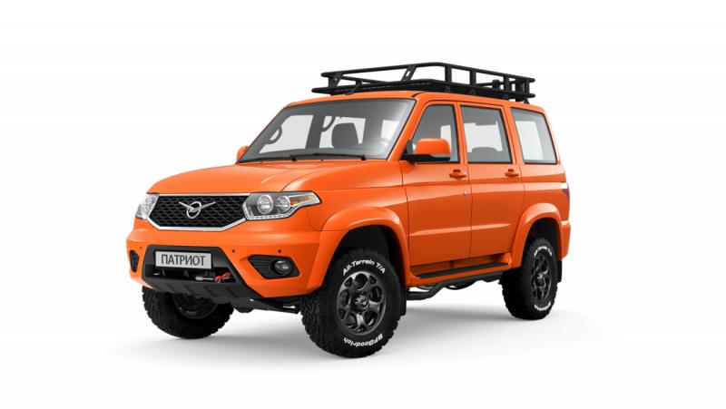 Авточехлы УАЗ Патриот Люкс (2020-2021)