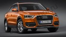 Кузов - Коврики Audi Q3 с 2011+