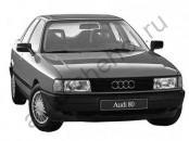 Кузов - Авточехлы Audi 80 B-3 (8A) 1986-1991г