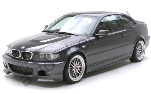 Коврики BMW 3 кузов Е-46 передние кресла СПОРТ
