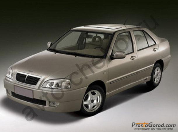 Авточехлы CHERY AMULET седан с 2006