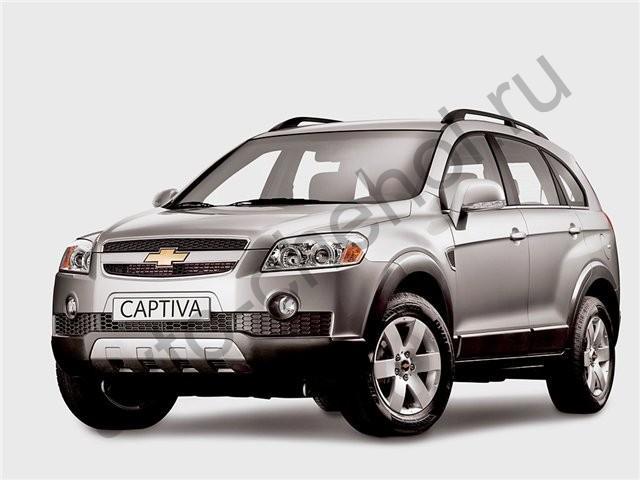 Коврики Chevrolet Captiva джип с 2006