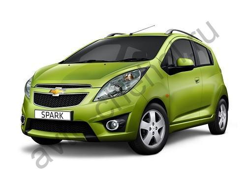 Коврики Chevrolet Spark lll c 2010-2015
