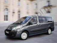 Коврики Citroen Jumpy II с 2007 г.в. 8 мест