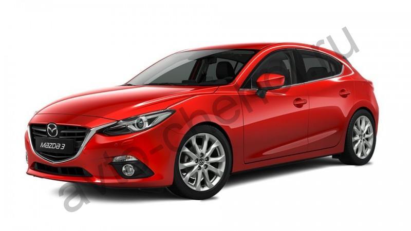 Авточехлы Mazda 3 хэтчбэк 2014+