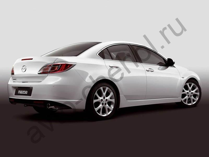 Коврики Mazda 6 sedan 2008-2013