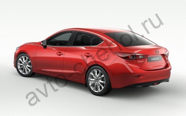Коврики Mazda 3 sedan  2014+