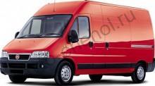 Кузов - Коврики Fiat Ducato 3 места с 2006+