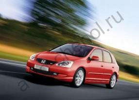 Авточехлы Honda Civic Fastback VII с 2001 по 2005