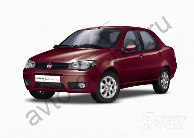 Авточехлы Fiat Albea 3 выпуск (2002-2012)