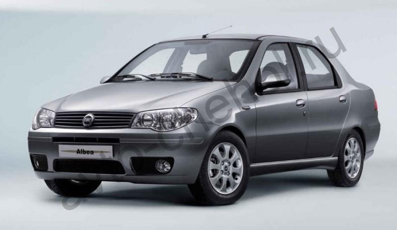 Коврики Fiat Albea 3 выпуск 2008+