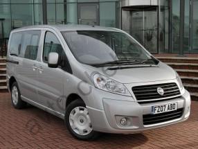 Авточехлы Fiat Scudo II с 2007+