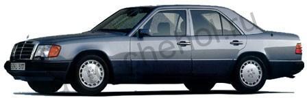 Коврики Mercedes W 124 sedan 1985-1995