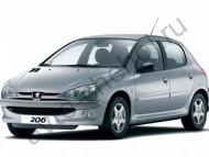 Коврики Peugeot 206 1998-2006