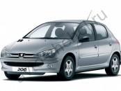Кузов - Коврики Peugeot 206 1998-2006
