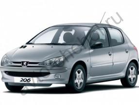 Авточехлы Peugeot 206 1998-2006