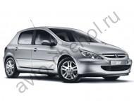 Коврики Peugeot 307 хэтчбек 2001-2008