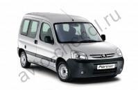 Кузов - Коврики Peugeot Partner Origin 5 мест 1997-2008