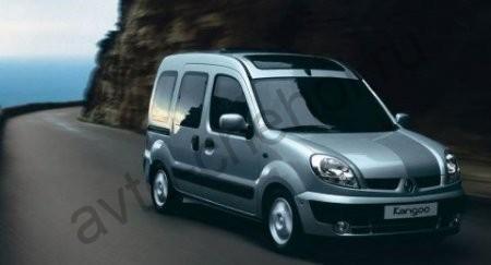 Коврики Renault Kangoo 5 мест 2003-2008