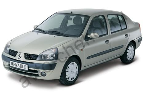 Коврики Renault CLIO SYMBOL (2001-2009)