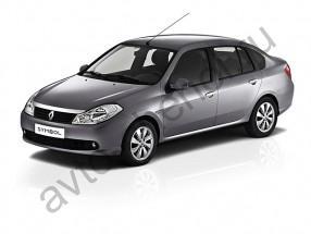 Авточехлы Renault Symbol sedan 2008-2012