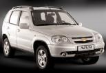 Коврики Chevrolet Niva 2002-2014