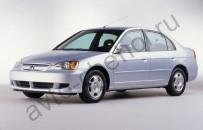 Кузов - Авточехлы Honda Civic 1 sedan Usa (2001-2006)