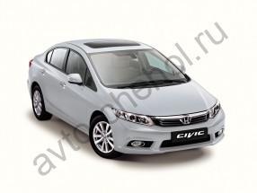 Авточехлы Honda Civic sedan c 2012+