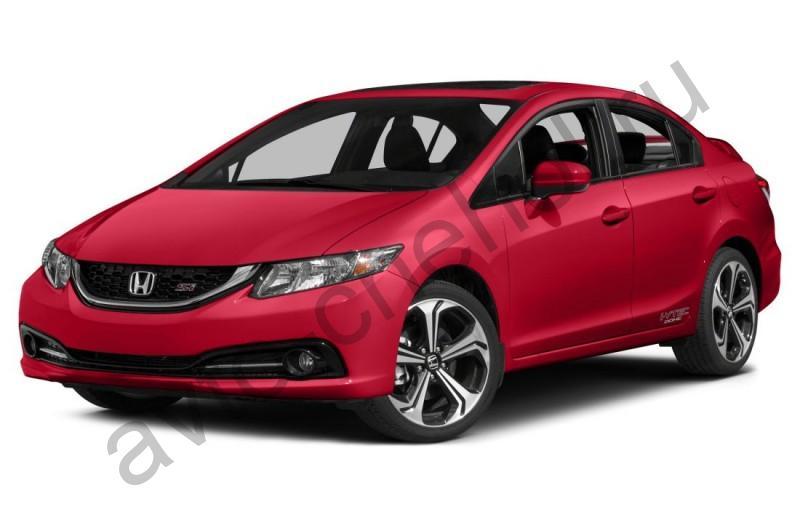Авточехлы Honda Civic 9 sedan (2011-2016)