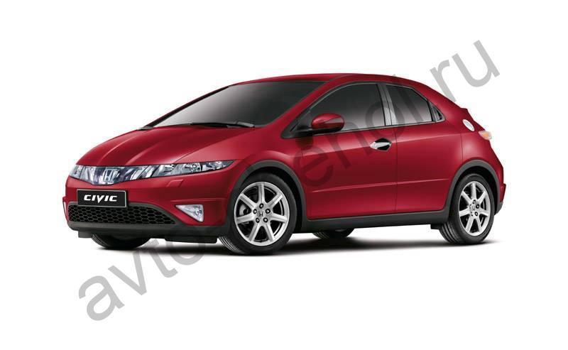 Авточехлы Honda Civic 8 хэтчбек (2005-2011)