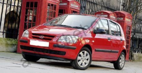 Коврики Hyundai Getz 1-выпуск 2002-2006