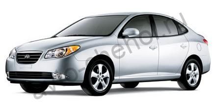 Коврики Hyundai Elantra lV HD 2006-2011
