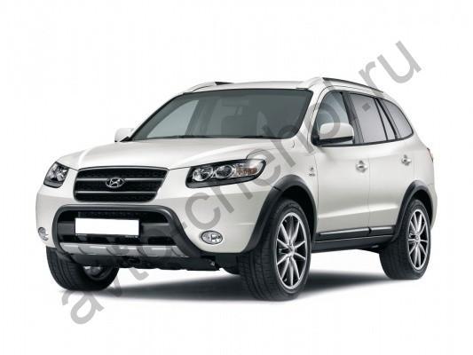Коврики Hyundai Santa Fe II c 2006-2012
