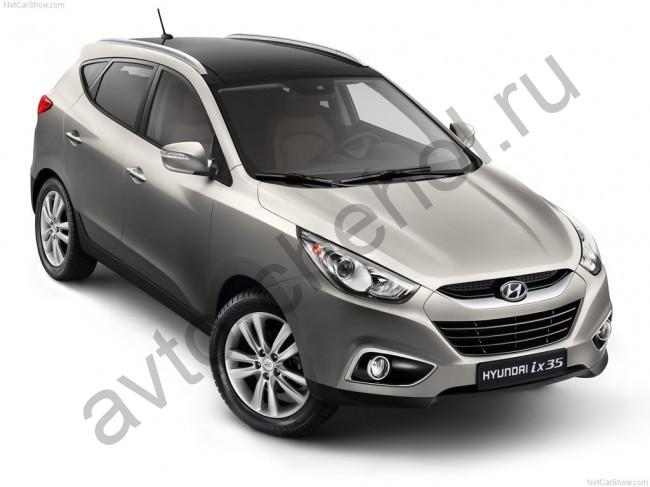 Коврики Hyundai ix35 с 2010+