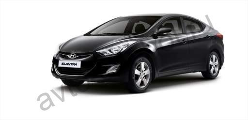 Коврики Hyundai Elantra V MD 2011+