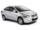 Авточехлы экокожа Hyundai Solaris sedan 2010+