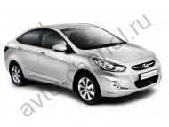 Коврики Hyundai Solaris sedan 2010+